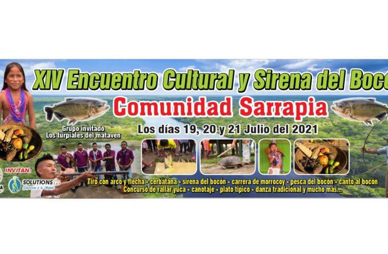 XIV Encuentro Cultural y Sirena del Bocón